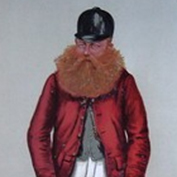 Original Vanity Fair print of Mr John Perkins by 'Hay' - dated 30th October 1886 and captioned 'Downing'