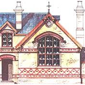 Hatley school, Hatley Cambridgeshire – front-elevation.