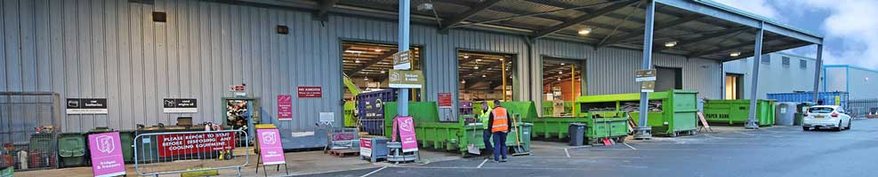 St Neots recycling centre.
