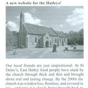 Hatley website in the news – FoFC, Summer 2019 newsletter.