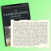 Cambridgeshire Landscape by Christopher Taylor. It includes snapshots of the landscape around East Hatley and Hatley St George.