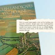 English Landscapes by W G Hoskins, 1908-92 / Published in 1973 – page eight mentions East Hatley's moats.