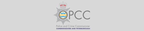 Cambridgeshire Police and Crime Commissioner logo