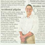 Matthew Parris, The Times columnist, donates to The Friends of Friendless Churches - diary note, 4th February 2020.