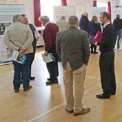 The East West Rail Company's roadshow in Little Gransden Village Hall – 29th February 2020. Well organised with intelligent people on hand to talk to. While the graphics were good, no mention of why the line is needed – and 'freight' does not appear anywhere.