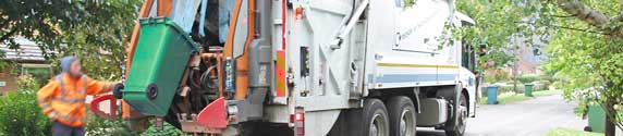 SCDC bin lorry on its regular Wednesday round to Hatley. South Cambridgeshire District Council normally empties black bins one Wednesday, green and blue bins the next – from 23rd March to 6th May 2020, green bins won't be emptied during the coronavirus crisis.