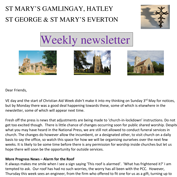 St Mary's, Gamlingay, weekly newsletter.  Click on the graphic to download it.