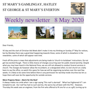 St Mary's, Gamlingay, weekly newsletter – 8th May 2020. Click on the graphic to download it.