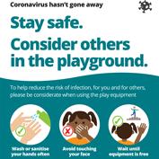 Coronavirus playground poster 4-7-20.