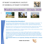 St Mary's, Gamlingay, weekly newsletter – 10th July 2020.