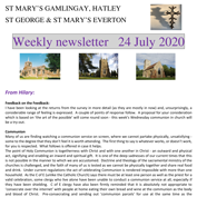 St Mary's, Gamlingay, weekly newsletter – 24th July 2020.