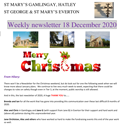 St Mary's, Gamlingay, weekly newsletter – 18th December 2020.