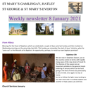 St Mary's, Gamlingay, weekly newsletter – 8th January 2021.
