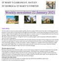 St Mary's, Gamlingay, weekly newsletter – 22nd January 2021.