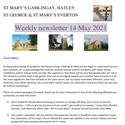 St Mary's, Gamlingay, weekly newsletter – 14th May 2021.
