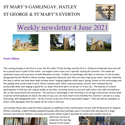 St Mary's, Gamlingay, weekly newsletter – 4th June 2021.