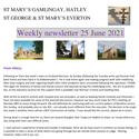 St Mary's, Gamlingay, weekly newsletter – 25th June 2021.