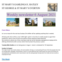 St Mary's, Gamlingay, weekly newsletter – 6th August 2021.